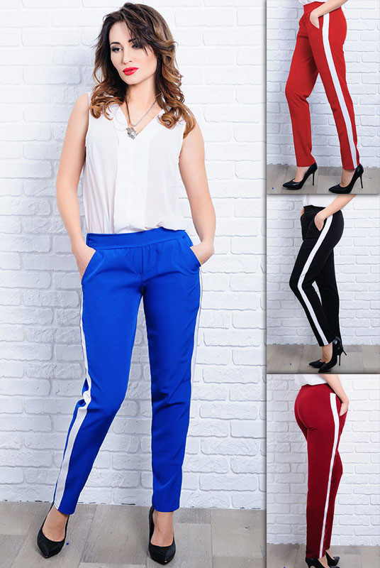 Стильные женские брюки  *САН-ФРАНЦИСКО* оптом