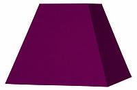 Абажур Corep  Пирамида квадрат L 20 см фиолет