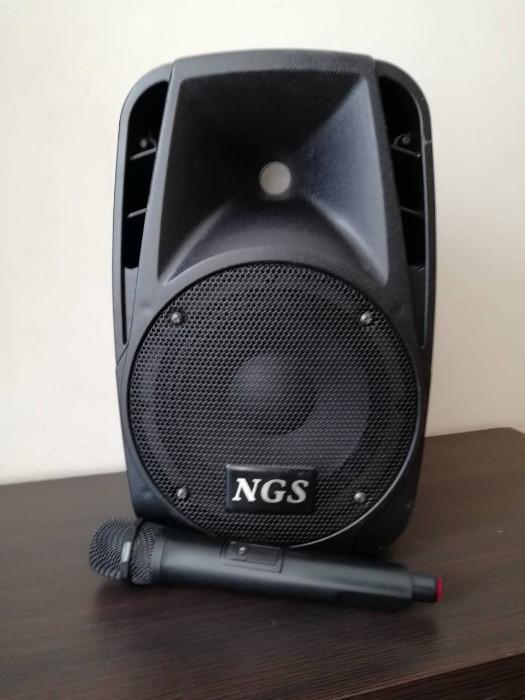Автономная активная акустическая система с ручным микрофоном NGS PA6.5-V1BP-BT 6.5