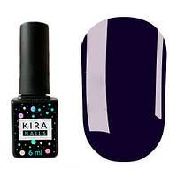 Гель-лак Kira Nails №029 (сине-фиолетовый, эмаль), 6 мл