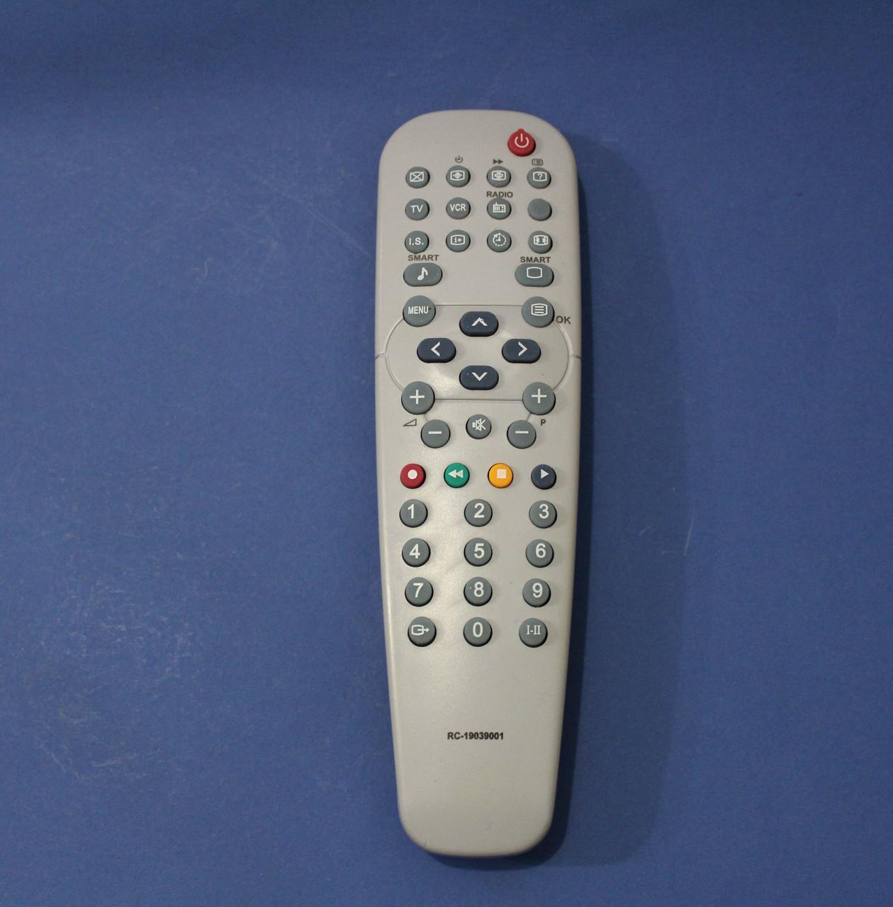 Пульт для телевизора PHILIPS RC-19039001 RADIO+VCR (HQ)