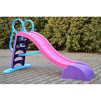 Горка для детей 187см с лесенкой (фиолетовая), фото 1