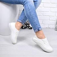 Кеды женские NoLimits белые  4593 , кеды женские осенняя обувь