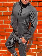 Мужской спортивный костюм Puma Серый Топ Реплика Хорошего качества, фото 1
