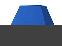 Абажур  Пирамида квадрат L 22 см  синий