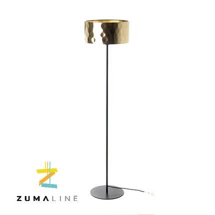 Торшер ZUMA LINE FORGE FL-16019-GD + BK, фото 2