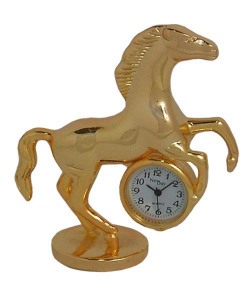 Часы настольные сувенирные Конь