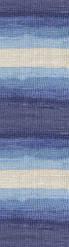 Пряжа Alize Cotton Gold Batik №3299 летняя для ручного вязания
