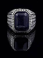 Перстень с синим авантюрином, размер 18,5 037855-185
