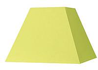 Абажур Corep  Пирамида квадрат L 22 см жёлтый