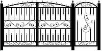 Ворота №2. На заказ.
