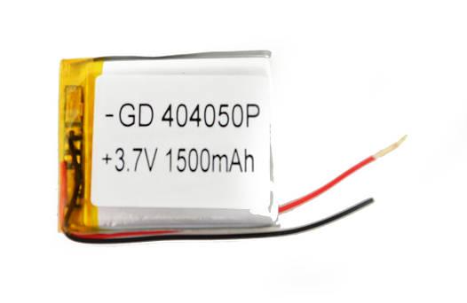 Литий-полимерный аккумулятор 3.7V 50х40х3 1500 mAh