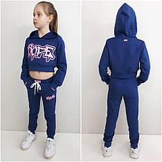 Детский костюм на девочку ТОП джинс, р.122-152