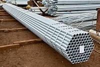 Труба водогазопроводная Ду 15х2,5 мм оцинкованная
