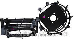 Грунтозацепы к мотоблоку (железные колёса) Ø 380 мм