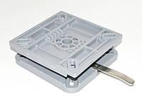 Пластина поворотная быстросъемная 387010L с фиксатором поворота
