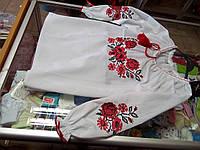 Рубашка Вышиванка для девочек р. 116 - 158