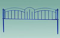 Забор № 6. Металлический.