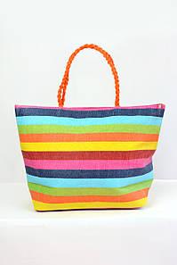 Пляжная сумка Ибица лимонная