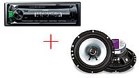 Автомагнитола Cyclon MP-1019G MBT + Автоакустика Kicx PD 652