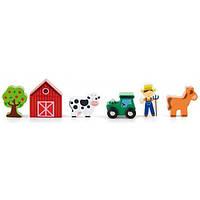 Viga Toys Игровой набор Viga Toys Дополнительный набор к ж/д Ферма (50812)