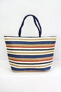 Пляжная сумка Ибица бежевая
