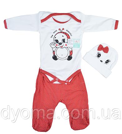 """Детский костюм """" Божья коровка"""" для новорожденных, фото 2"""