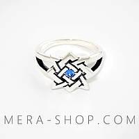 Квадрат Сварога кольцо славянский оберег, фото 1