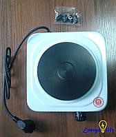 Электрическая плитка с 1 комфоркой 1,5 кВт., блин,  GAV 911