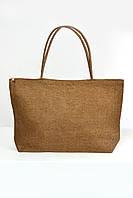 Пляжная сумка Гоа коричневая