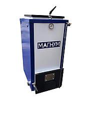 Котел Холмова Магнум мощностью 20 квт с блоком управления и турбиной, фото 3
