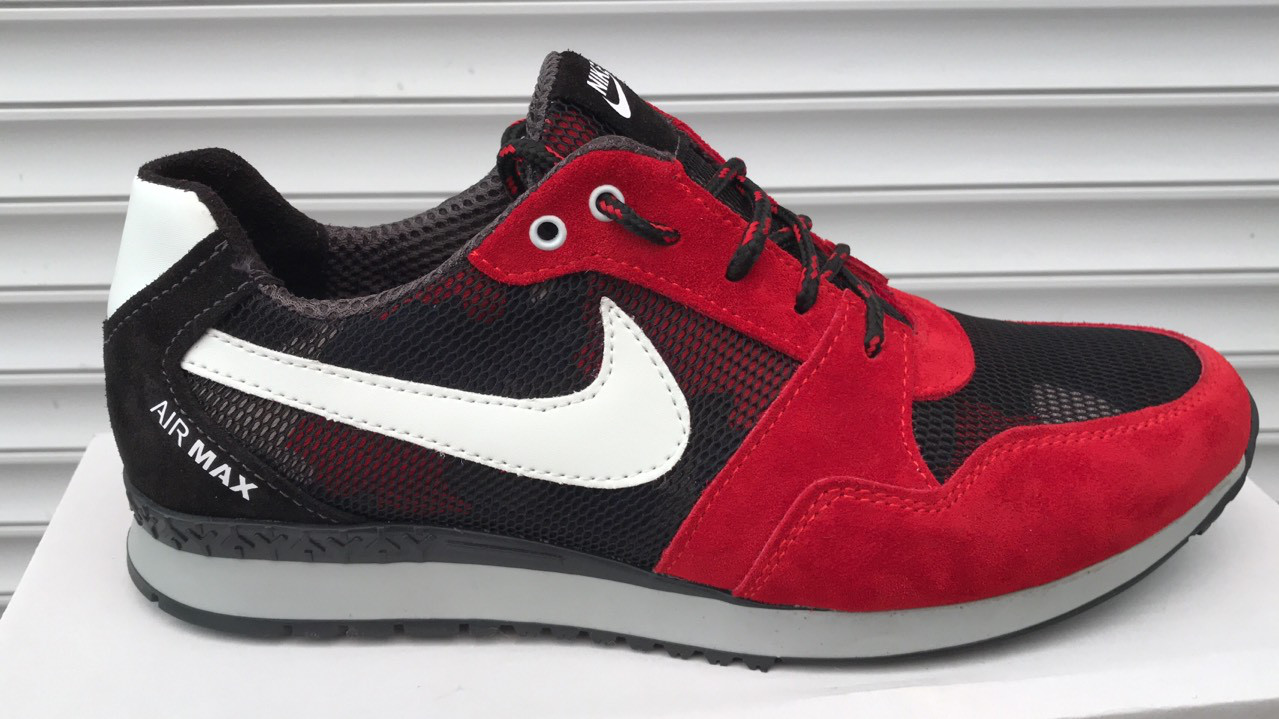 3274eb50 Мужские модные кроссовки Nike Air Max, (замша + сетка): продажа ...