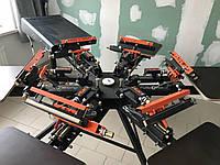 Оборудование для шелкографии б/у комплект: станок 6х6 и сушка ИК, фото 1