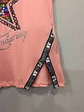 Подростковая стильная футболка для девочки 140/146,146/152 см, фото 3