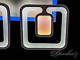 Потолочная LED-люстра с диммером и подсветкой, фото 8