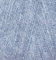 Пряжа Alize ANGORA REAL 40 для ручного вязания полушерсть светлый джинс №221