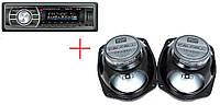Автомагнитола Cyclon MP-1009G + автоакустика Calcell CP-6930