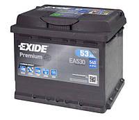 Автомобильный аккумулятор Exide Premium 6СТ-53