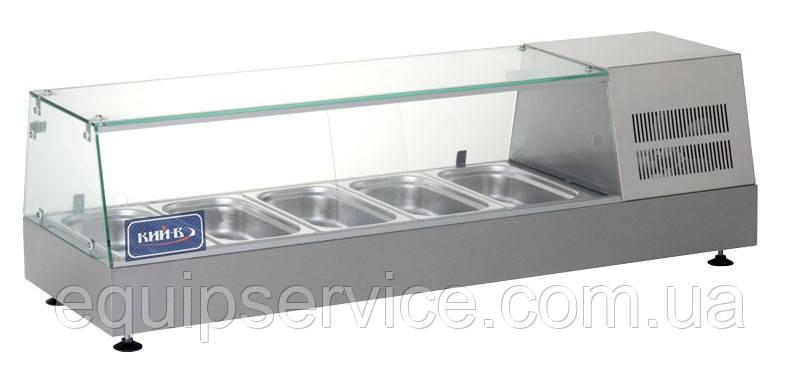 Витрина холодильная (суши кейс) КИЙ-В ВХН-5-1225