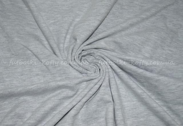 Серо-лиловая мужская футболка плотная мягкая