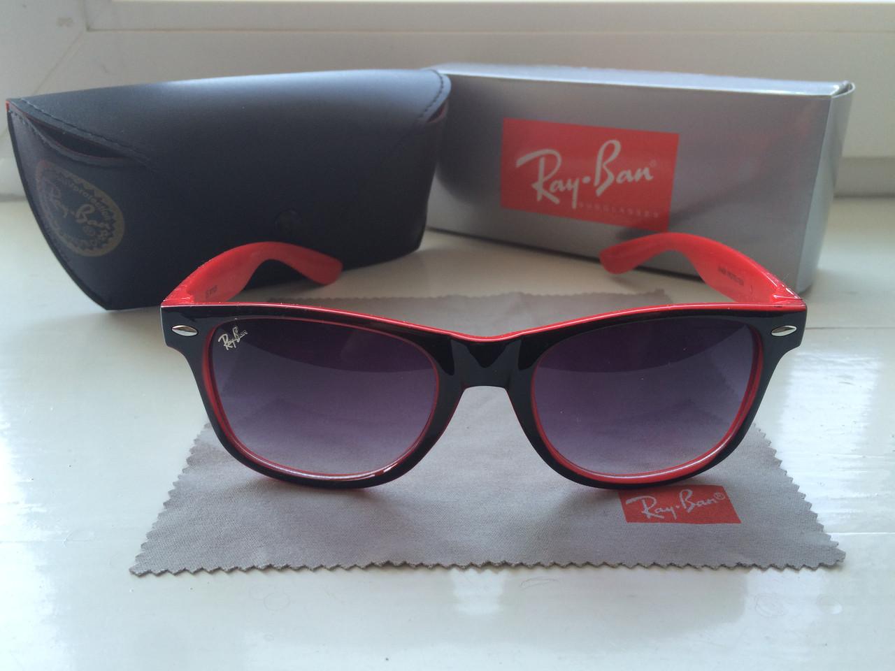 Солнцезащитные Очки Ray-Ban Wayfarer + фирменный набор  продажа ... b1ac4e2104a