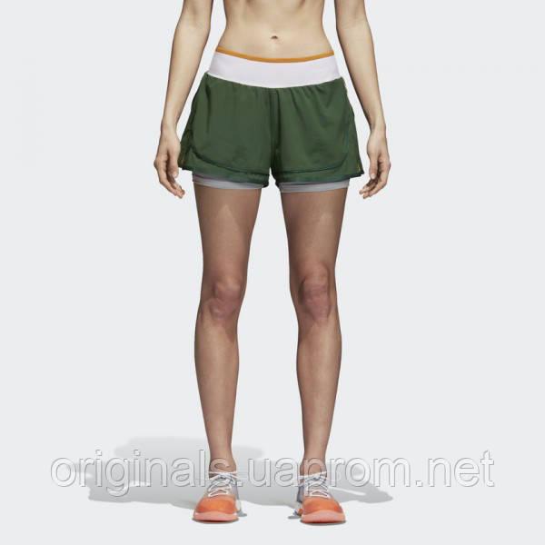 62a6e19386b0 Женские шорты Adidas aSMC Training High Intensity 2-in-1 CW0126 - 2018 -
