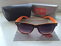 Солнцезащитные Очки Ray-Ban Wayfarer + фирменный набор, фото 1