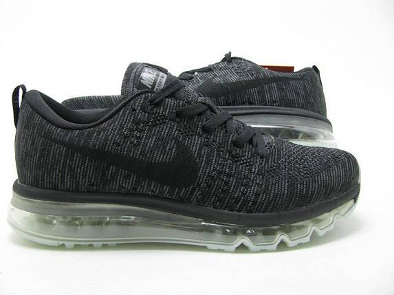 Кроссовки мужские Nike Flyknit Max.Серые , фото 2