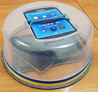 Настольный прозрачный акустический сейф СФЕРА-XL для смартфонов и планшетных компьютеров