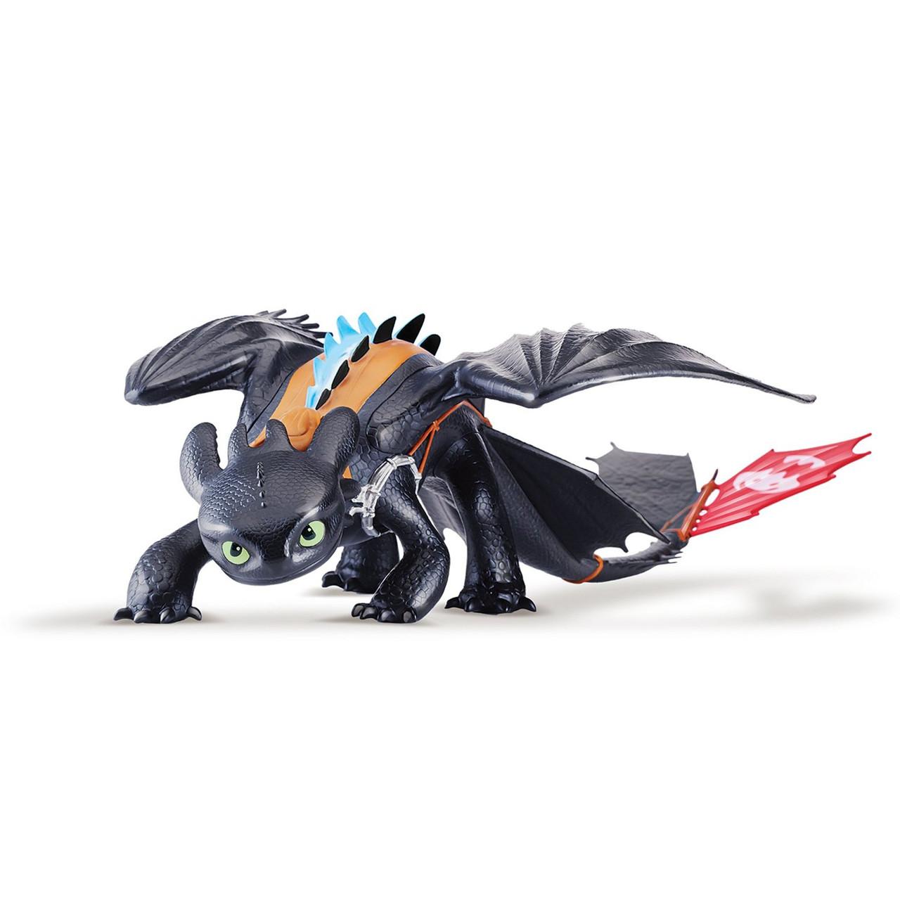 Большая игрушка дракон Беззубик 58 см.