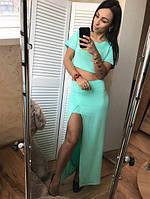 Костюм юбка +топ, фото 1