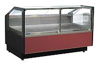 Холодильная витрина (фронтальное стекло открывается) GRACIA D FG 1,25