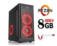 Персональный игровой компьютер ZEN / 4ядра* 3.7GHz / 8Gb_DDR4 / 500Gb / Radeon_Vega8_DDR4