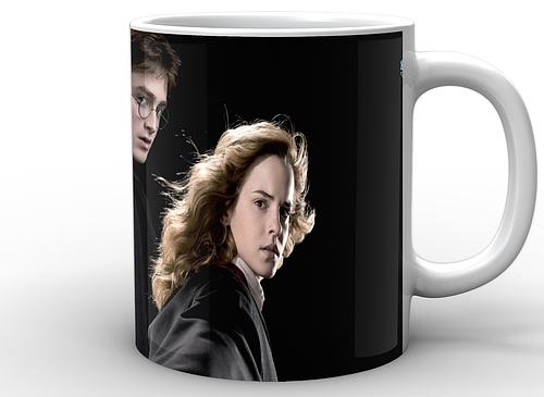 Кружка GeekLand Гарри Поттер Harry Potter Гарри Поттер на черном фоне HP.02.011
